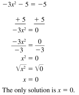 Big Ideas Math Algebra 1 Solutions Chapter 9 Solving Quadratic Equations 9.3 a 15