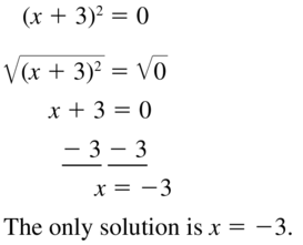Big Ideas Math Algebra 1 Solutions Chapter 9 Solving Quadratic Equations 9.3 a 19