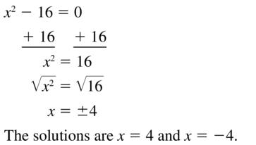 Big Ideas Math Algebra 1 Solutions Chapter 9 Solving Quadratic Equations 9.3 a 9
