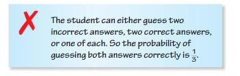 Big Ideas Math Algebra 2 Answer Key Chapter 10 Probability 10.1 8