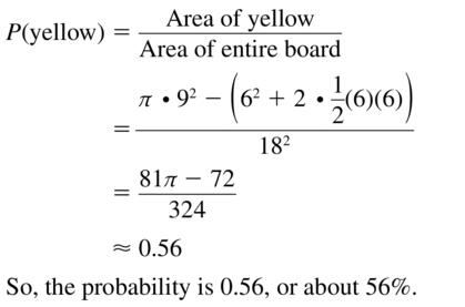 Big Ideas Math Algebra 2 Answer Key Chapter 10 Probability 10.1 a 13