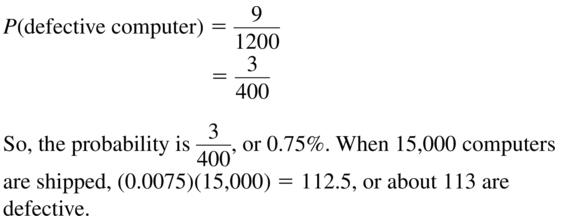 Big Ideas Math Algebra 2 Answer Key Chapter 10 Probability 10.1 a 27