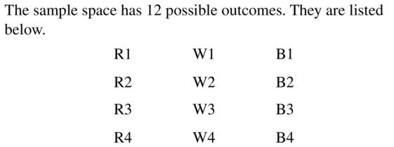 Big Ideas Math Algebra 2 Answer Key Chapter 10 Probability 10.1 a 5