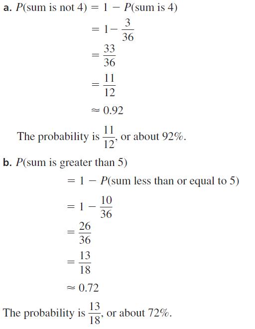 Big Ideas Math Algebra 2 Answer Key Chapter 10 Probability 10.1 a 9