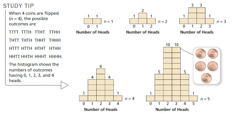Big Ideas Math Algebra 2 Answer Key Chapter 10 Probability 10.6 1