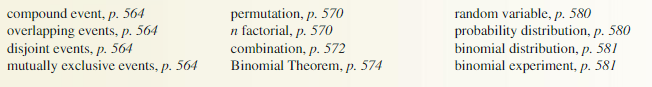 Big Ideas Math Algebra 2 Answer Key Chapter 10 Probability 10.6 12