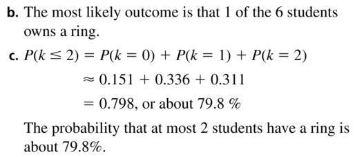 Big Ideas Math Algebra 2 Answer Key Chapter 10 Probability 10.6 a 13.2