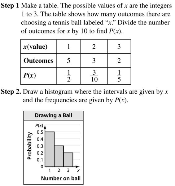 Big Ideas Math Algebra 2 Answer Key Chapter 10 Probability 10.6 a 3