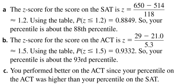 Big Ideas Math Algebra 2 Answer Key Chapter 11 Data Analysis and Statistics 11.1 a 33
