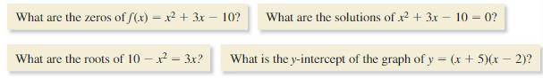 Big Ideas Math Algebra 2 Answer Key Chapter 3 Quadratic Equations and Complex Numbers 3.1 2