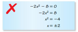 Big Ideas Math Algebra 2 Answer Key Chapter 3 Quadratic Equations and Complex Numbers 3.1 6