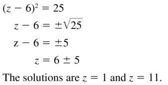 Big Ideas Math Algebra 2 Answer Key Chapter 3 Quadratic Equations and Complex Numbers 3.1 a 15