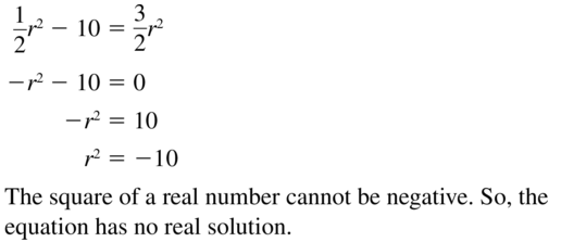 Big Ideas Math Algebra 2 Answer Key Chapter 3 Quadratic Equations and Complex Numbers 3.1 a 19