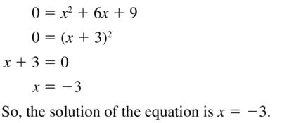 Big Ideas Math Algebra 2 Answer Key Chapter 3 Quadratic Equations and Complex Numbers 3.1 a 27