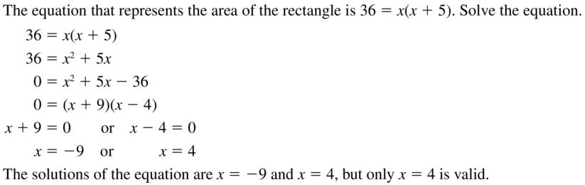 Big Ideas Math Algebra 2 Answer Key Chapter 3 Quadratic Equations and Complex Numbers 3.1 a 35