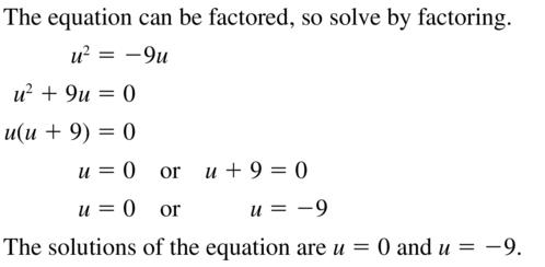 Big Ideas Math Algebra 2 Answer Key Chapter 3 Quadratic Equations and Complex Numbers 3.1 a 39