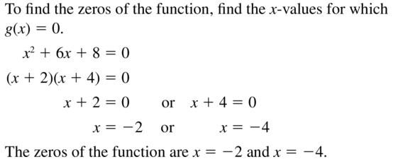 Big Ideas Math Algebra 2 Answer Key Chapter 3 Quadratic Equations and Complex Numbers 3.1 a 47