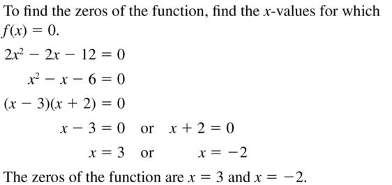 Big Ideas Math Algebra 2 Answer Key Chapter 3 Quadratic Equations and Complex Numbers 3.1 a 51