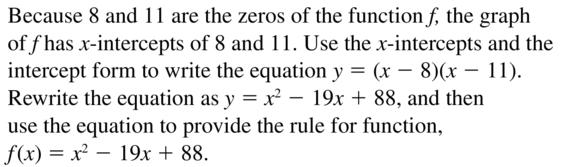 Big Ideas Math Algebra 2 Answer Key Chapter 3 Quadratic Equations and Complex Numbers 3.1 a 55