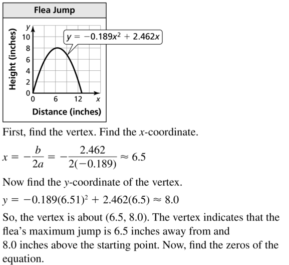 Big Ideas Math Algebra 2 Answer Key Chapter 3 Quadratic Equations and Complex Numbers 3.1 a 69.1