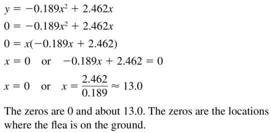 Big Ideas Math Algebra 2 Answer Key Chapter 3 Quadratic Equations and Complex Numbers 3.1 a 69.2