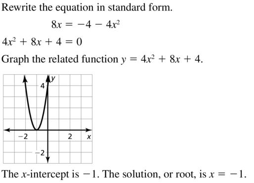 Big Ideas Math Algebra 2 Answer Key Chapter 3 Quadratic Equations and Complex Numbers 3.1 a 7