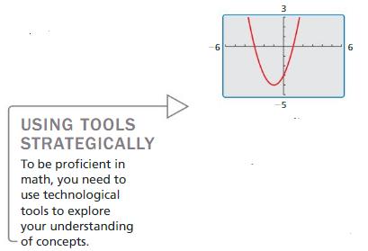 Big Ideas Math Algebra 2 Answer Key Chapter 3 Quadratic Equations and Complex Numbers 3.6 1