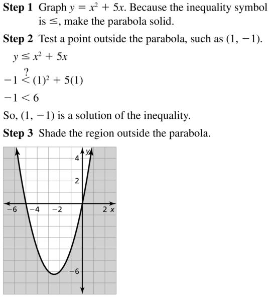 Big Ideas Math Algebra 2 Answer Key Chapter 3 Quadratic Equations and Complex Numbers 3.6 a 11