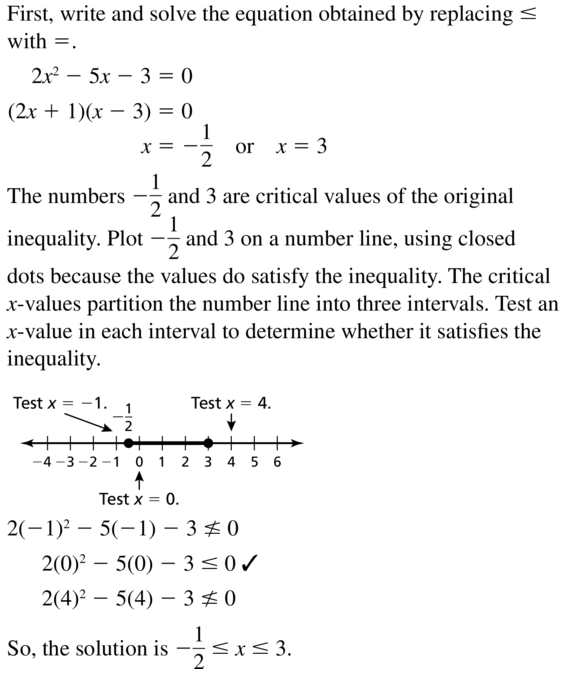 Big Ideas Math Algebra 2 Answer Key Chapter 3 Quadratic Equations and Complex Numbers 3.6 a 31