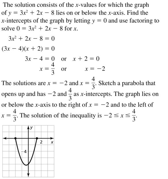 Big Ideas Math Algebra 2 Answer Key Chapter 3 Quadratic Equations and Complex Numbers 3.6 a 39