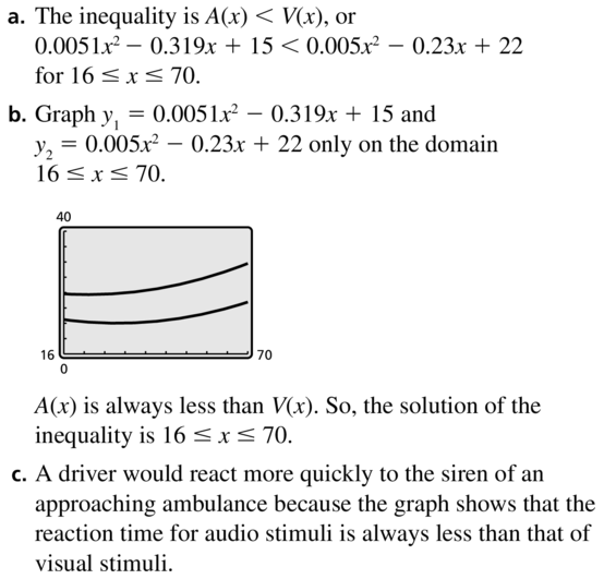 Big Ideas Math Algebra 2 Answer Key Chapter 3 Quadratic Equations and Complex Numbers 3.6 a 47