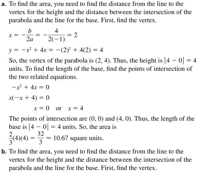 Big Ideas Math Algebra 2 Answer Key Chapter 3 Quadratic Equations and Complex Numbers 3.6 a 51.1