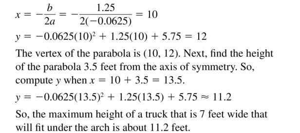 Big Ideas Math Algebra 2 Answer Key Chapter 3 Quadratic Equations and Complex Numbers 3.6 a 53.2