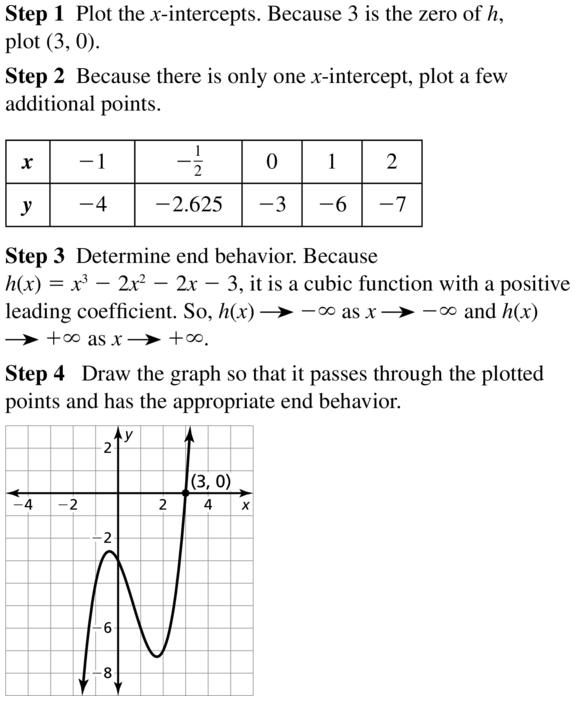 Big Ideas Math Algebra 2 Answer Key Chapter 4 Polynomial Functions 4.8 a 13