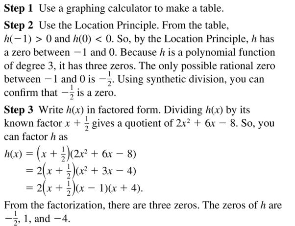 Big Ideas Math Algebra 2 Answer Key Chapter 4 Polynomial Functions 4.8 a 19