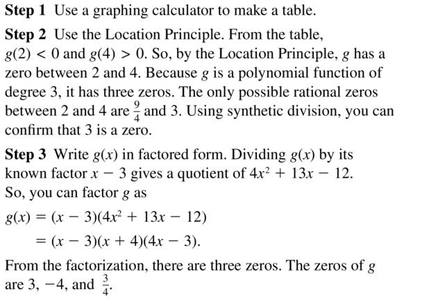 Big Ideas Math Algebra 2 Answer Key Chapter 4 Polynomial Functions 4.8 a 21