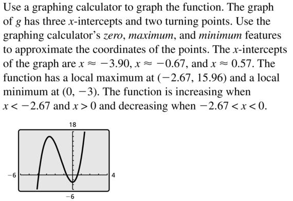 Big Ideas Math Algebra 2 Answer Key Chapter 4 Polynomial Functions 4.8 a 23