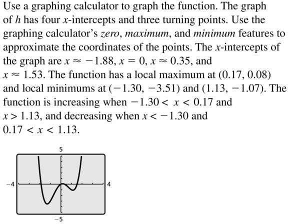Big Ideas Math Algebra 2 Answer Key Chapter 4 Polynomial Functions 4.8 a 25