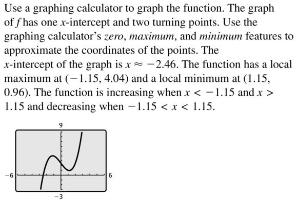 Big Ideas Math Algebra 2 Answer Key Chapter 4 Polynomial Functions 4.8 a 27