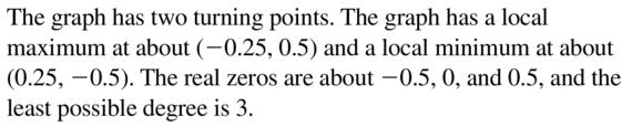 Big Ideas Math Algebra 2 Answer Key Chapter 4 Polynomial Functions 4.8 a 31