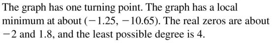 Big Ideas Math Algebra 2 Answer Key Chapter 4 Polynomial Functions 4.8 a 35