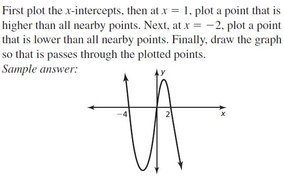 Big Ideas Math Algebra 2 Answer Key Chapter 4 Polynomial Functions 4.8 a 37