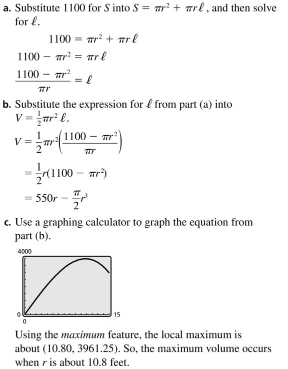 Big Ideas Math Algebra 2 Answer Key Chapter 4 Polynomial Functions 4.8 a 53