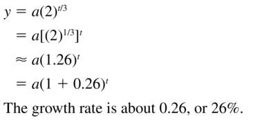 Big Ideas Math Algebra 2 Answer Key Chapter 6 Exponential and Logarithmic Functions 6.1 a 29