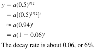 Big Ideas Math Algebra 2 Answer Key Chapter 6 Exponential and Logarithmic Functions 6.1 a 31