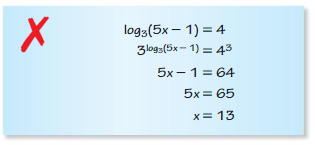 Big Ideas Math Algebra 2 Answer Key Chapter 6 Exponential and Logarithmic Functions 6.6 5