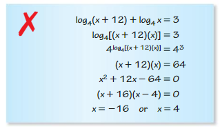Big Ideas Math Algebra 2 Answer Key Chapter 6 Exponential and Logarithmic Functions 6.6 6