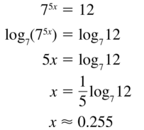 Big Ideas Math Algebra 2 Answer Key Chapter 6 Exponential and Logarithmic Functions 6.6 a 13