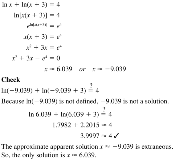 Big Ideas Math Algebra 2 Answer Key Chapter 6 Exponential and Logarithmic Functions 6.6 a 35