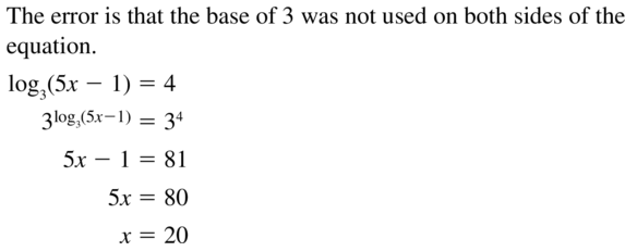 Big Ideas Math Algebra 2 Answer Key Chapter 6 Exponential and Logarithmic Functions 6.6 a 41